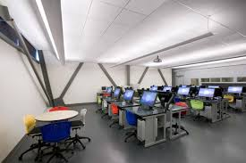 Rooms Design by Cool And Modern Computer Room Decor Ideas Futuristic White