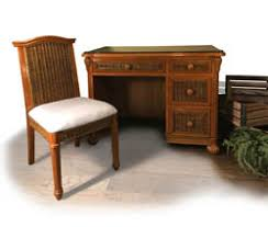 Rattan Computer Desk Wicker And Rattan Office Furniture And Desk Items
