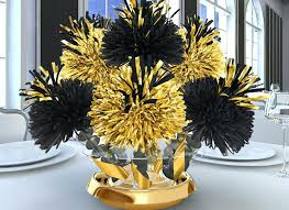 black and gold centerpieces for tables black and gold centerpieces for tables centerpieces black gold black