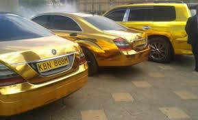 gold cars is this guy meet the kenyan governor who has gold cars uses
