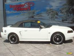 2000 Ford Gt 2000 Crystal White Ford Mustang Gt Convertible 36064855
