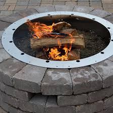 Firepit Insert 31 Id 430 Stainless Steel Pit Ring Insert Firebuggz
