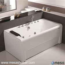 Wholesale Bathtubs Suppliers China Rectangular Corner Luxury Acrylic Fiberglass Whirlpool