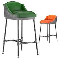 bar stool countertop wine rack industrial stools steampunk