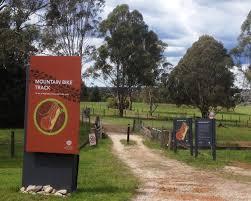 The Australian Botanic Garden Mountain Bike Track At Australian Botanic Garden Sydney