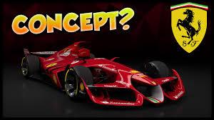 assetto corsa ferrari f1 concept car of the future youtube