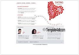 flash website template free dating love flash website template
