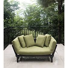 Patio Daybeds For Sale Amazon Com Outdoor Futon Convertible Sofa Daybed Deep Seating