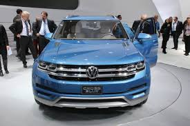 volkswagen suv 2014 vw confirms all new mid size suv for production in the usa