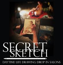 secret sketch tuesday daytime life drawing london drawing
