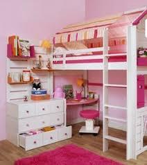 chambre fille avec lit mezzanine chambre enfant sur mesure lit cabane lit mezzanine