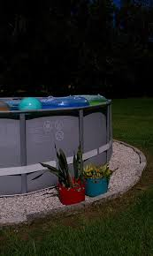 Landscaping Around Pools by Landscaping Around Base Of Intex Ultra Frame Pools Page 2