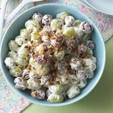creamy grape salad recipe taste of home