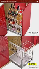 kitchen cabinets baskets cabella stainless steel cabinet pull basket kitchen cabinet