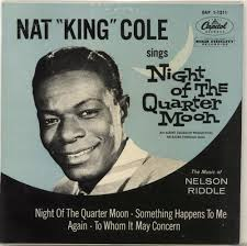 lights out nat king cole review nat king cole night of the quarter moon ep uk 7 vinyl single 7