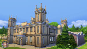 mod the sims downton abbey highclere castle no cc