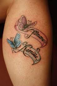 Tattoos Ideas For Kids Name Tattoo Designs For Kids Name U2013 Flower And Name Tattoo On