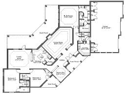 small custom home plans simple modern house design floor plan with dimensions 2 bedroom