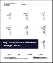 long division worksheets these long division worksheets have