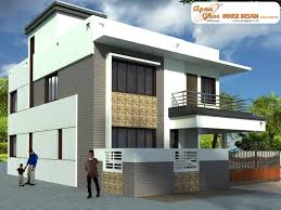 Bedrooms Duplex House Design In M M X M Ground Floor - One bedroom house designs