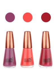 light brown nail polish nevlon chocolate brown coral red light brown glossy nail polish set