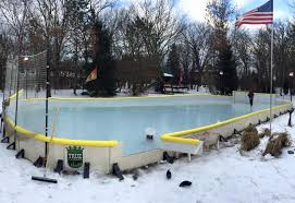 Build A Backyard Ice Rink Nicerink Backyard Ice Rink Kit Noveltystreet