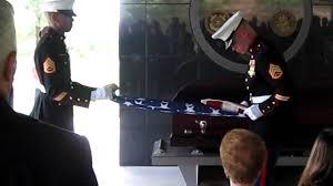 Military Funeral Flag Presentation Tom Valerga U0027s Military Funeral Honors 21 Gun Salute Part 2 Youtube