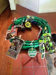 House Warming Wedding Gift Idea Wreath For A Tool And Gadget Party For My Boys Pinterest