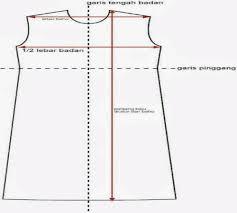 dasar membuat pola baju ebook download cara mudah membuat pola baju sendiri zona kreatif