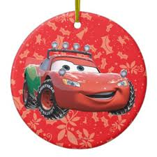 lightning mcqueen ornament disney celebrations