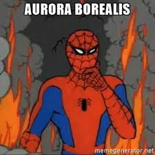 Spider Man Meme Generator - aurora borealis 60 s spider man know your meme