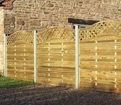 elite st meloir fence panel 1 8m 6x6 from grange gardensite co uk
