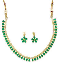 green stones necklace images N a rubans jpg