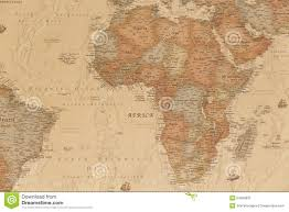 Map Of Ancient Africa by Ancient Geographic Map Of Africa Stock Photo Image 54358837