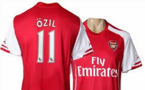 arsenal puma deal image arsenal 2014 15 puma home kit revealed new shirt looks top