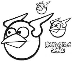 awesome orange bird angry birds space coloring pages batch