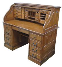 Antique Style Computer Desk Marlin Deluxe Roll Top Desk Top Home Ideas Office Craft Room
