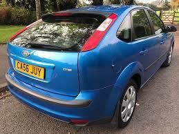 ford focus 1 6 lx tdci 2007 blue 5 speed manual 5 door hatch