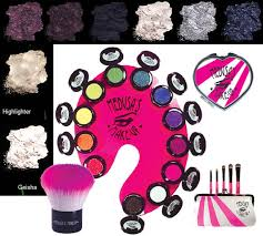 medusa s makeup electro new rave eye shadow and dust disco club queen makeup