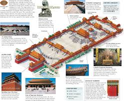 Beijing Map Beijing Map Forbidden City Old Town Imperial Palace Museum