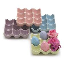 ceramic egg trays beautiful egg crates fig cherry