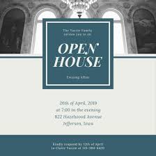 customize 127 open house invitation templates online canva