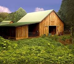 mountain barns