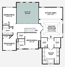 Double Master Bedroom Floor Plans by Dominion Valley Country Club Carolinas The Ellsworth Ii Home