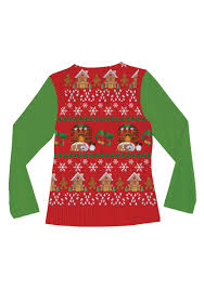 women u0027s ugly christmas sweater vest shirt