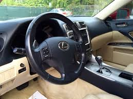 2007 Lexus Is250 Interior Gorgeous Like New Lexus Is250 Matador Red And Beige Leather Interior