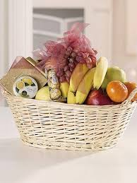 gourmet basket fruit and gourmet food basket flowers from the fresh flower