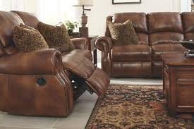 Brown Leather Recliner Sofa Set Walworth Power Reclining Sofa Furniture Homestore