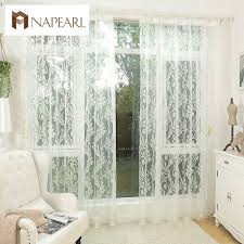 aliexpress com buy white curtain tulle panel sheer yarn curtain