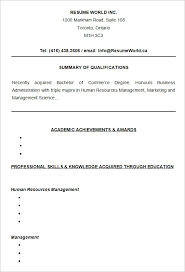 10 college resume templates u2013 free samples examples u0026 formats